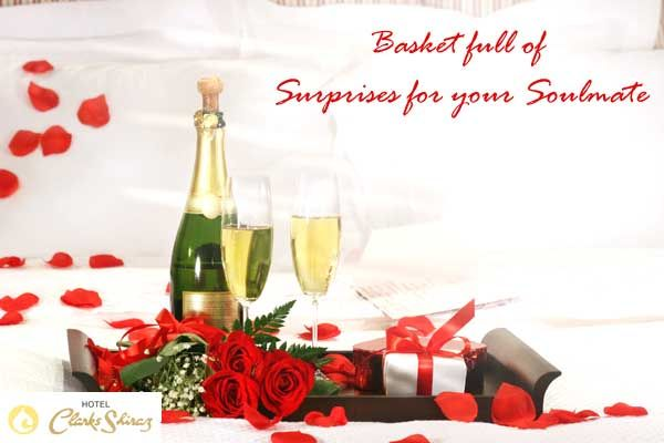 Our special #HoneymoonSuitePackage available at Rs. 25000, brings to you a #basket full of #surprises.