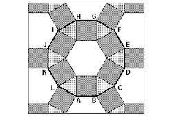 Resultado de imagem para poligonos regulares formando