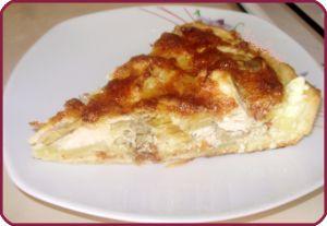 Лоранский пирог с курицей и грибами (Киш-Лорен, quiche lorraine) #кишлоран #лоранскийпирог #пирогкурицейигрибами #пирогсгрибами #пирогскурицей #quichelorraine #кишлорен
