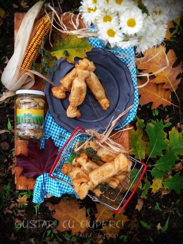 Gustari in forma de bomboane, umplute cu ciuperci Sun Food, castane, nuci si cascaval