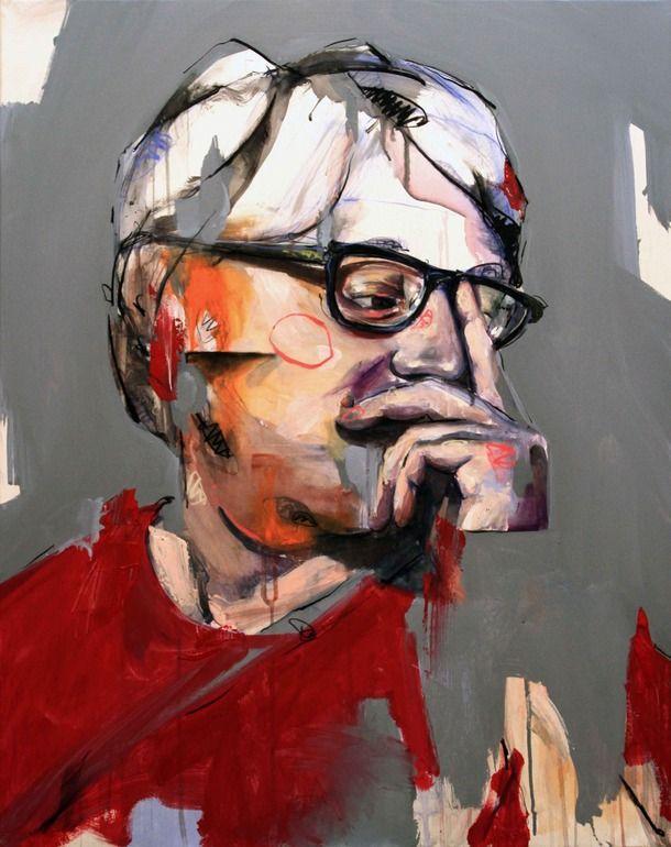 "Saatchi Art Artist: Lou Ros; Acrylic Painting ""LT"""