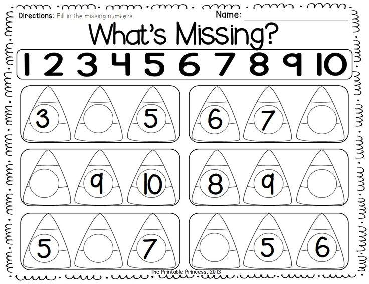 Fall Activities for Kindergarten: Math and Literacy