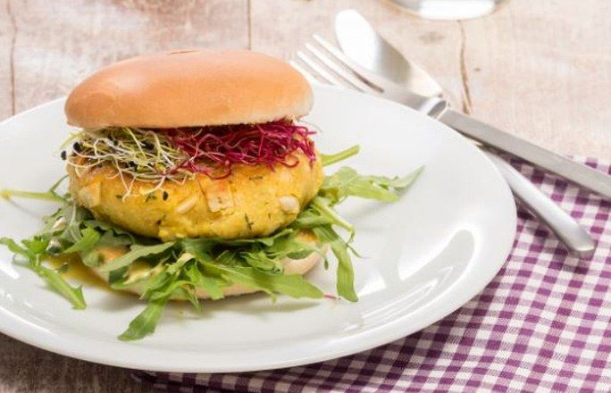Couscous Burger