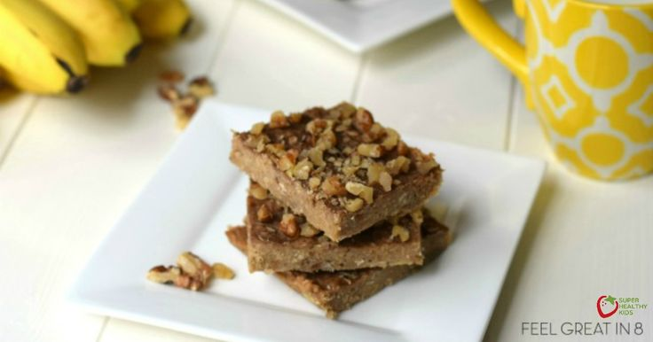 3 Ingredient Peanut Butter Banana Bars