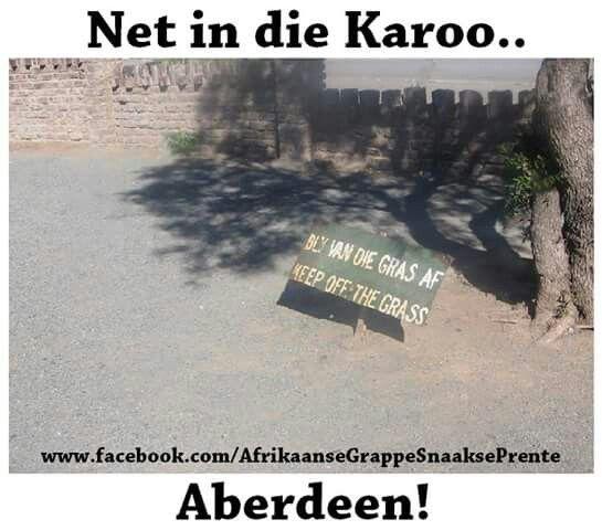 South African jokes Net in die Karoo!  Afrikaanse grappe en jokes
