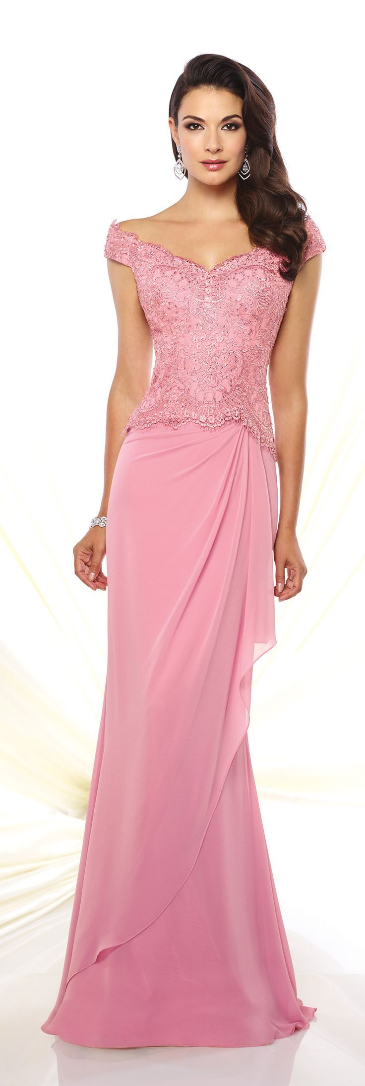 Mejores 108 imágenes de PINK DRESSES AND GOWNS THAT ARE LONG AND ...