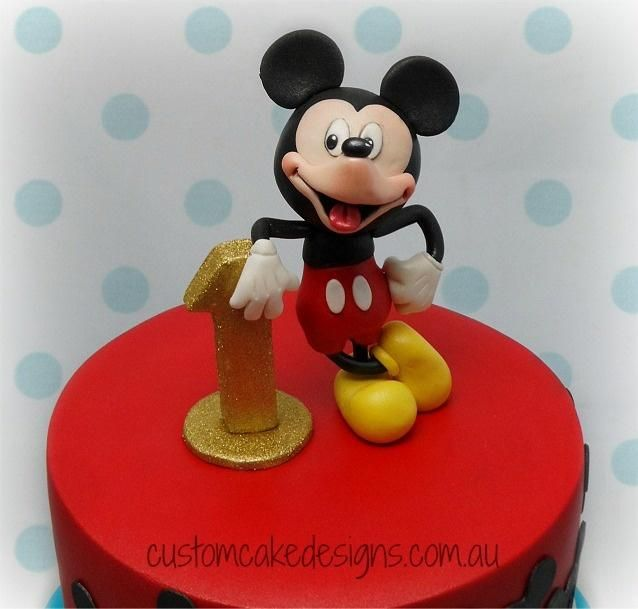 Mickey Clubhouse Cake - Cake by customcakedesignsoz