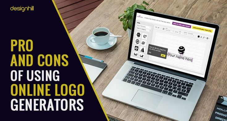 Are you looking to design a logo by your own using a logo creator tool. Here are few pros and cons of using online #logo  generators or #logomaker  tools.
