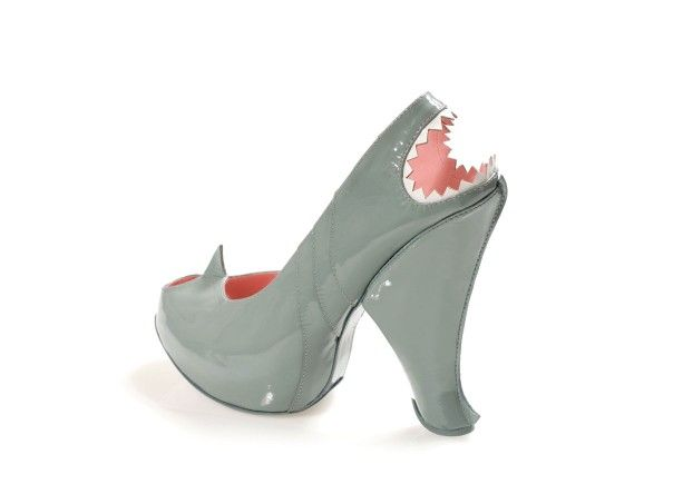 SHARK: Just like in the deep waters, Kobi's shark is smooth, shiny and scary with its threatening jaws.  The front fin informs of its arrival and alerts you just before the jaws lurking at the back open up to take a bite. USD 1,680.