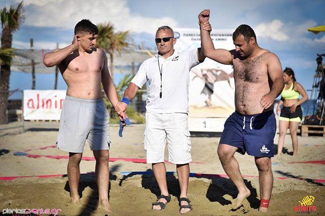 ΓΝΩΜΗ ΚΙΛΚΙΣ ΠΑΙΟΝΙΑΣ: Πάλη στην άμμο: Πρωταθλητής Ελλάδος ο Θεοδόσιος Πα...