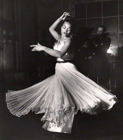 Eartha Kitt, 1951 (Russell Westwood)  #twirl