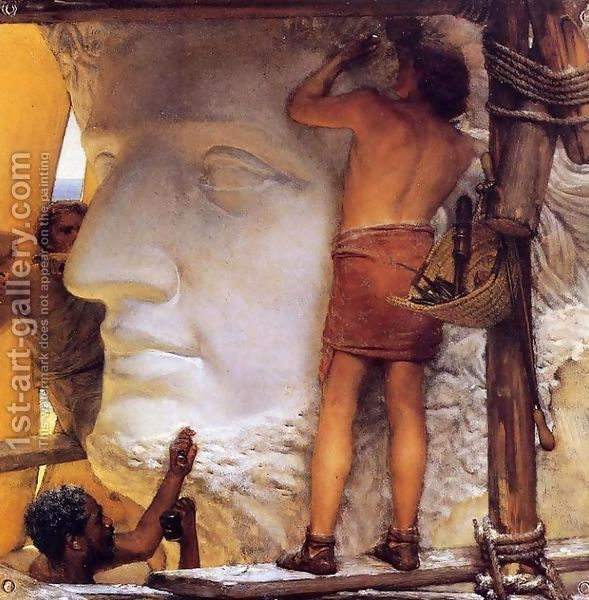 Sculptors in Ancient Rome by Sir Lawrence Alma-Tadema