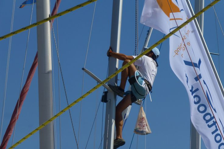 setting sails for the regatta