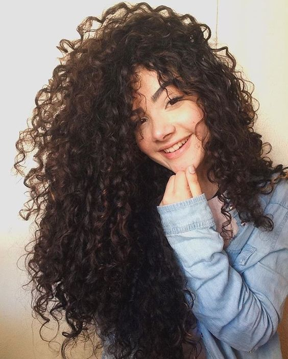 Conhecido 302 best cabelos cacheados images on Pinterest | Curly hair, Curls  JR95