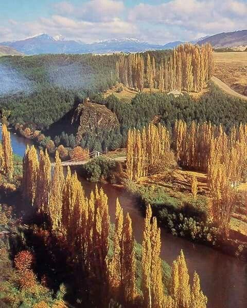 otoño en el sur de chile