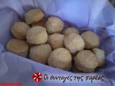 Scones, ψωμάκια σε 10 λεπτά #sintagespareas