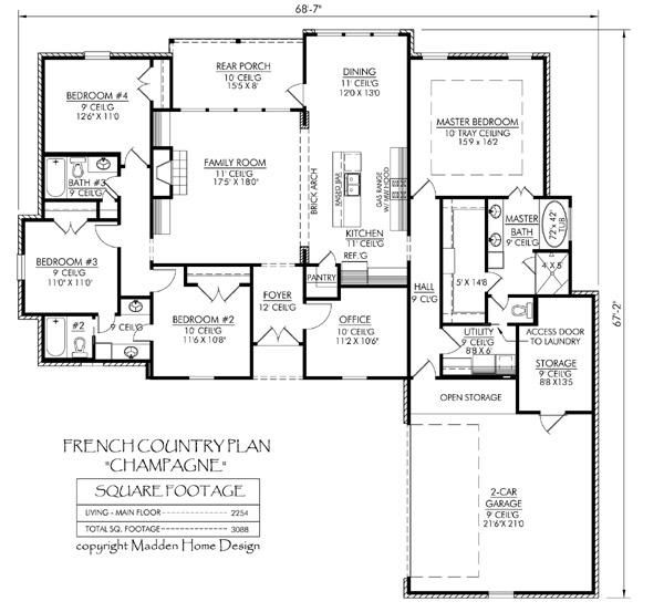 Best 25+ Madden home design ideas on Pinterest | Acadian house ...