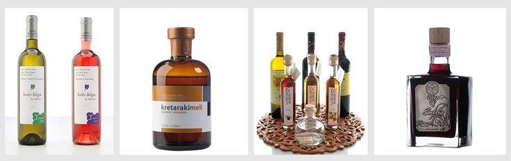 Cretan Spirits, Organic Wines, Tsikoudia-Raki, Raki With Honey, Ouzo ... https://www.mycretangoods.com/en/category/114345/Drinks/