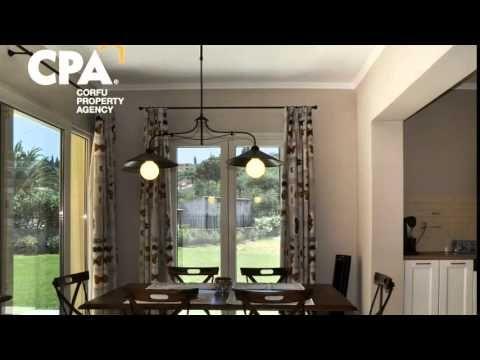 Impressive villa for sale, with swimming pool in Gouvia Corfu-CPA 3648 - YouTube