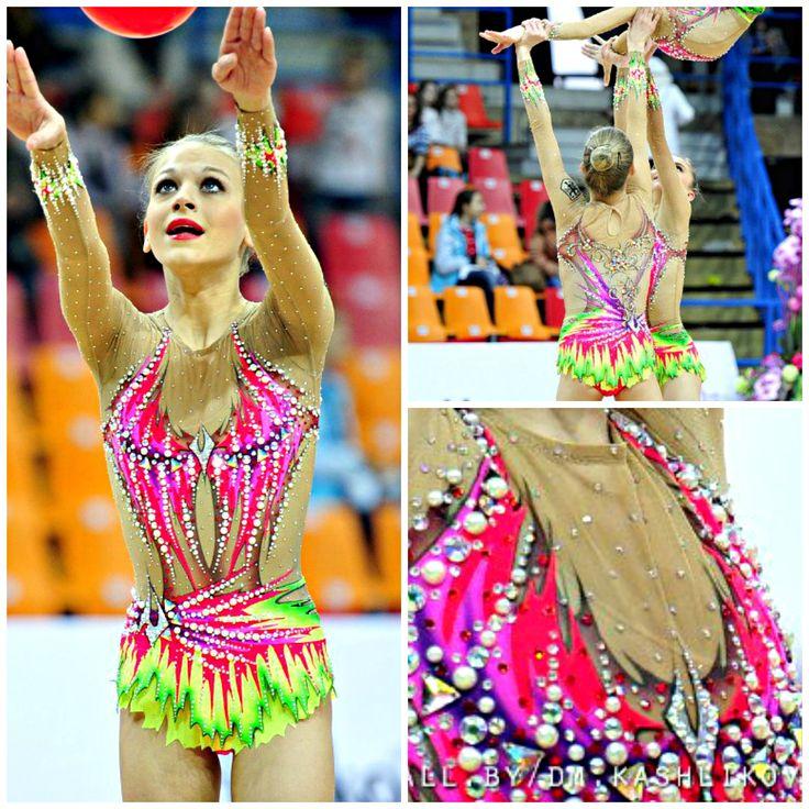 Rhythmic gymnastics leotard: group Germany, junior