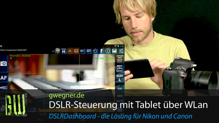 WLan Kamera Fernsteuerung für Nikon und Canon DSLR – endlich eine günstige Lösung, die klasse funktioniert! | gwegner.de