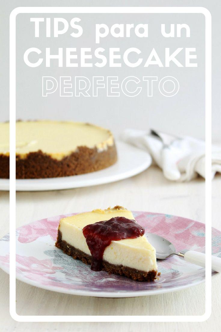 Mis 8 tips para que el famoso cheesecake salga siempre perfecto. Y también como lo puedes modificar a tu gusto. Una bomba de rico!