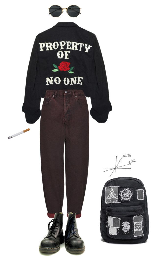 """noone"" by violetteandgrunge ❤ liked on Polyvore"
