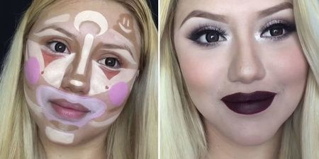 Clown Contouring Is the Latest Makeup Trick - #clowncontouring #makeuptrick #makeuptip #clown