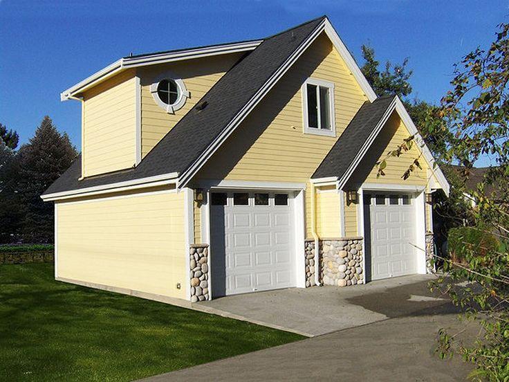 99 best garage plans with boat storage images on pinterest for Boat garage plans