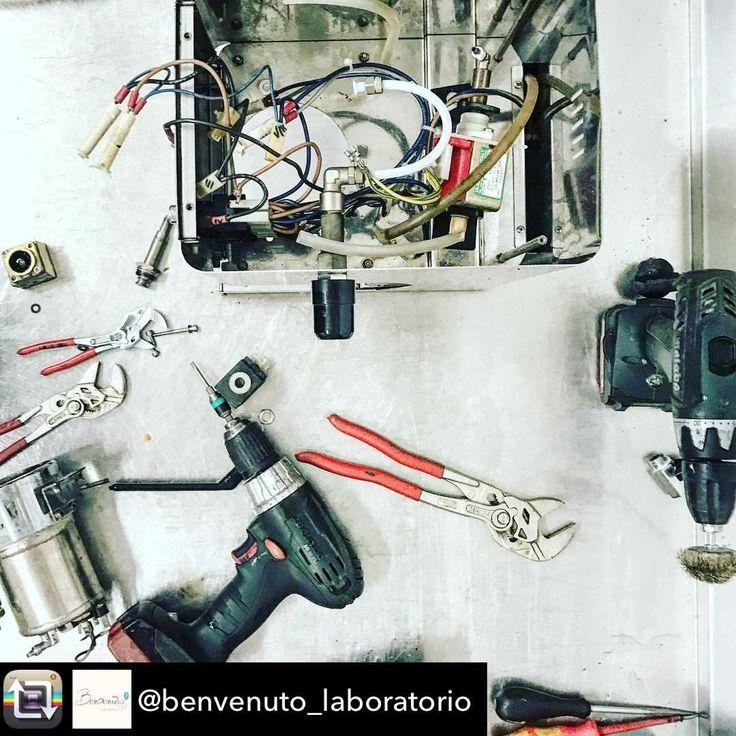 Finishing up on an old school ECM  Thanks @benvenuto_laboratorio  #metabo #tools #werkzeug #powertools #elektrowerkzeuge #madeingermany #akku #batteries #battery #cordless #cordlesspower # #cordlesstools #metal #metall #renovation  #contractor #craftsman #toolaholic #toolsofthetrade #ironworker #metallbau #metallbauer #metallbearbeitung #metalwork #metalworking #schweissen #welder #weldernation #welding #weldporn