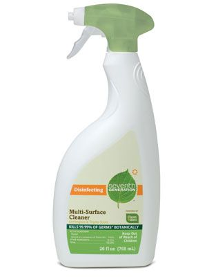 Best Green Cleaning Products - Nontoxic Natural Cleaner Reviews