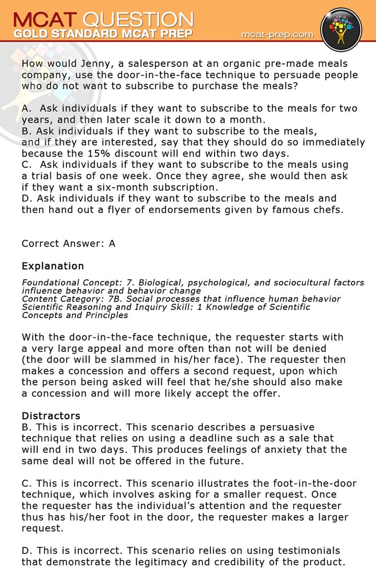 mcat essay practice questions The mcat is the test you'll take if you're considering applying to medical school,   the writing sample section on the mcat differs from most other standard.