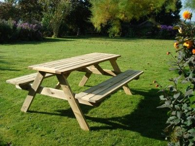 Sherwood FSC Certified Picnic Table | 180cm  gardenfurniturecentre.co.uk - midlands    £150