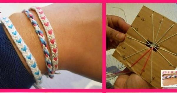 Tejiendo pulseras de la amistad, ¡las puedes hacer tú!