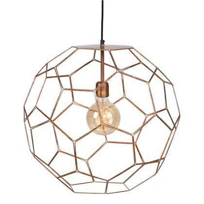Wil je een mooie draadstalen lamp, die perfect past bij een etnisch/bohemien of industrieel interieur? Dan zit je bij deze It's about RoMi Marrakesh lamp aan het juiste adres. De lamp heeft een Marokkaanse twist dankzij het gebruik van gebrand koper!