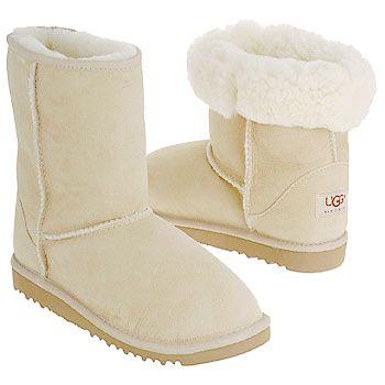 Women's UGG Classic Short Sand Shoes.com