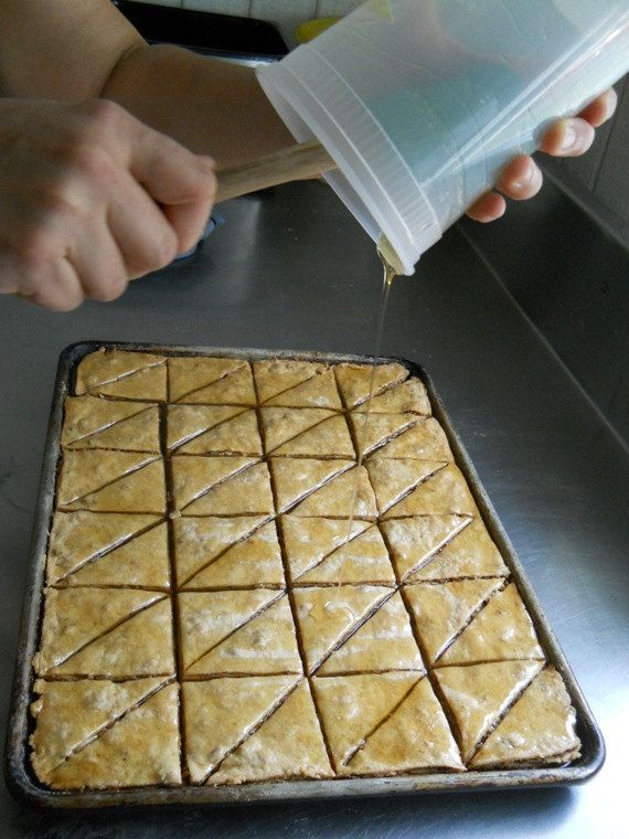 Gluten Free Baklava Traditional Greek by TripleOakBakeryGF on Etsy
