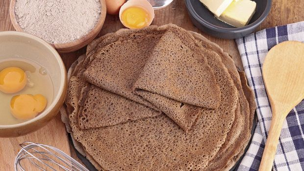 Pohanková mouka je vynikající na přípravu sladkých i slaných palačinek.  Foto: