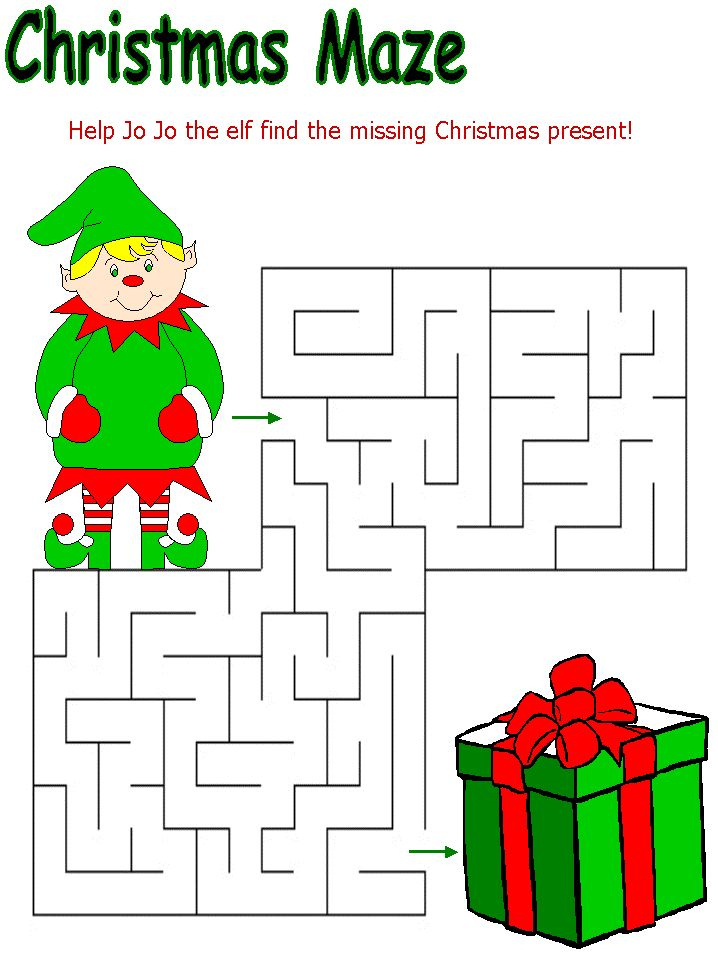 christmas themed mazes coloring pages word search fun coloring pages maze and christmas. Black Bedroom Furniture Sets. Home Design Ideas