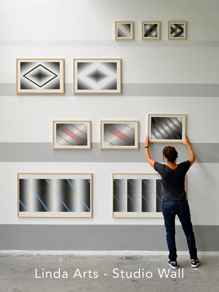 Linda Arts Studio Wall 2014