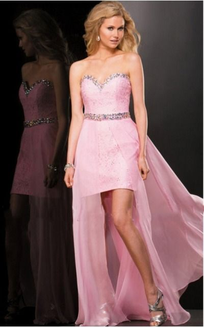 Strapless,Sweetheart Floor-length Chiffon Natural Backless Formal Dresses gjea71089