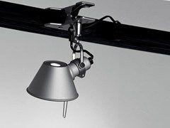 Adjustable clamp spotlight TOLOMEO PINZA | Halogen spotlight - ARTEMIDE