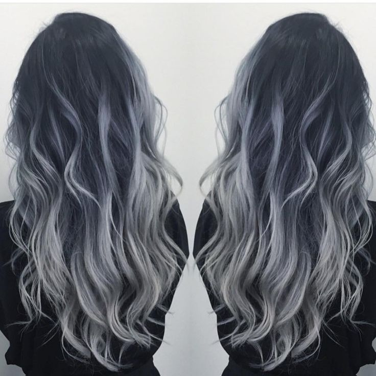 "Hot on Beauty on Instagram: ""Smoky Blue Silver by @dianashin #hotonbeauty #beautymagazine #featurepage Hot Beauty Magazine"" I want this color!"