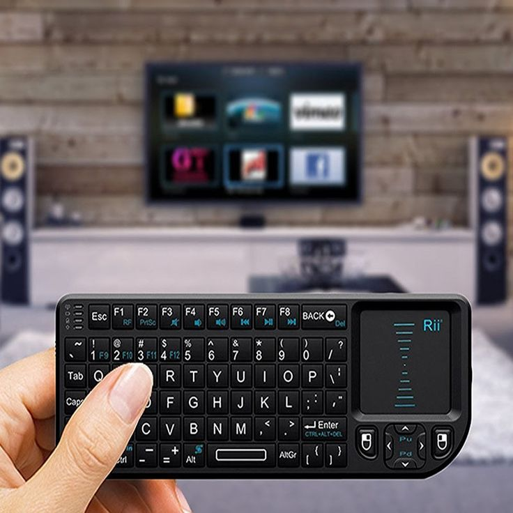 Untuk PC Notebook: pintar google android tv box rii mini x1 qwerty fly air keyboard mouse handheld 2.4 GHz rf nirkabel dengan touchpad