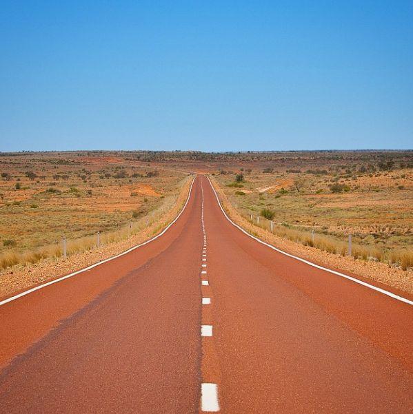 Stuart Highway, near Alice Springs