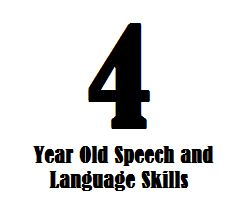 Find out about 4 year old speech and language skills and learn how a 4-year-old child should be communicating.