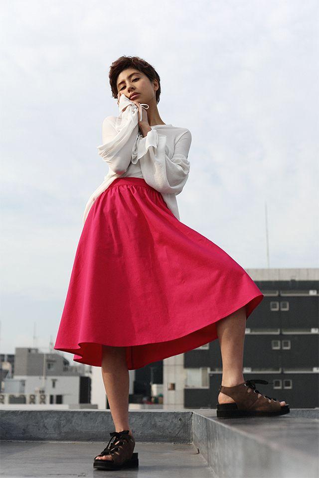 【G.PAPER】ラブリが着こなす 春のトレンド服