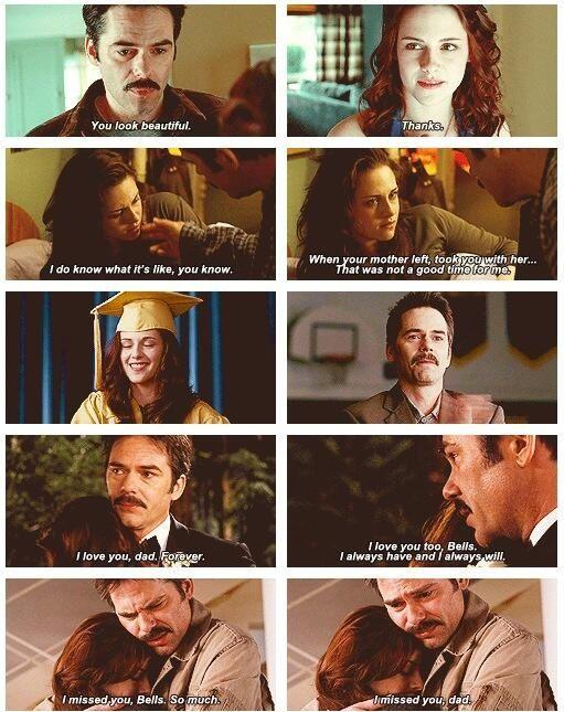 'The Twilight Saga' - Charlie & Bella.