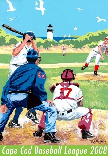 Cape Cod Baseball League By Robert Kennedy Chatham MA