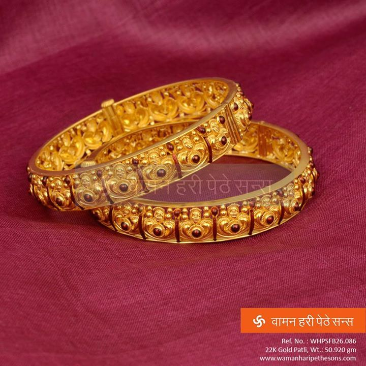 #Brilliantly #Crafted and #Designed #Gold #Patli from our #Designer collection.